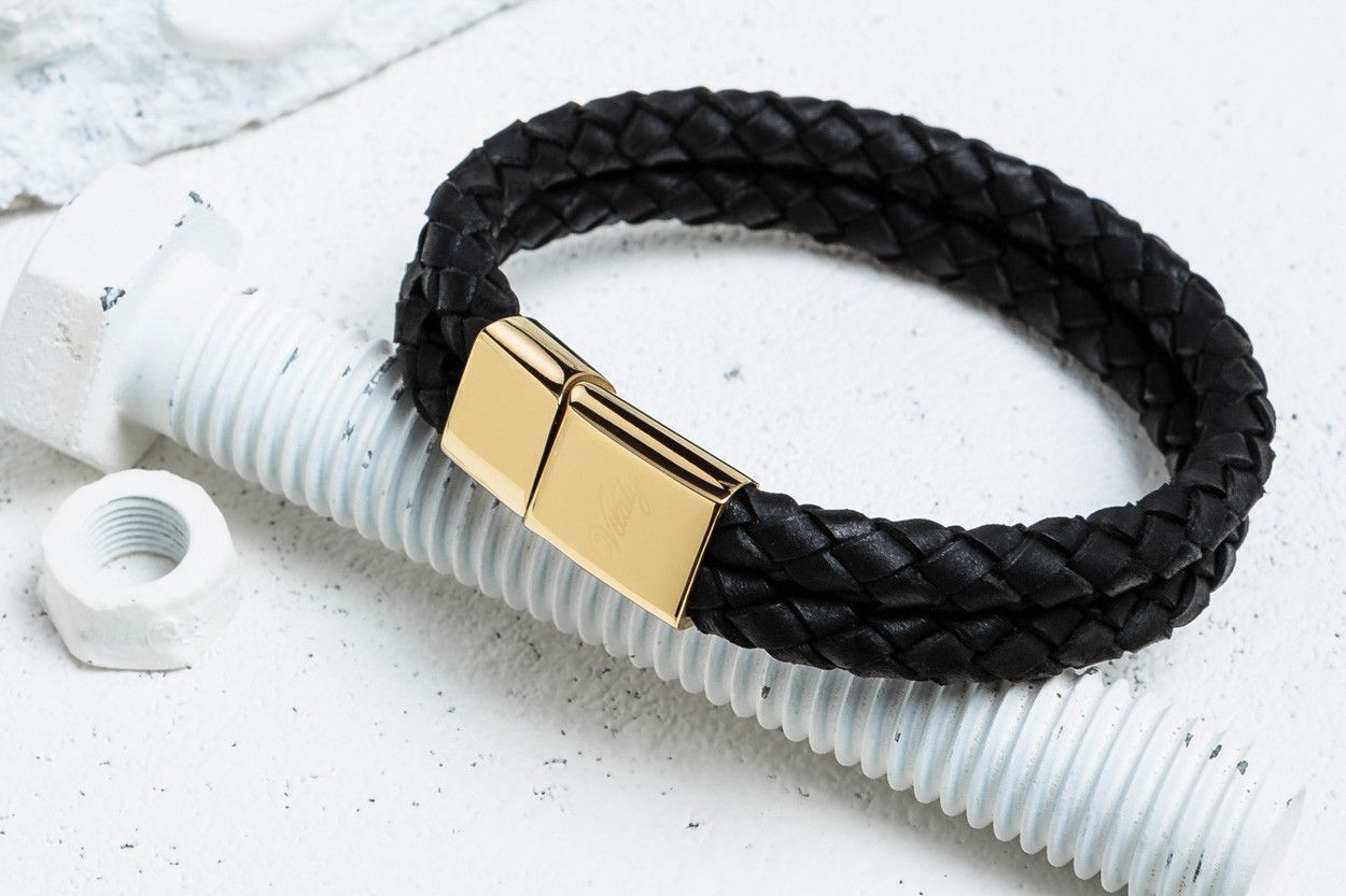 Dubbel black x gold from vitaly watchesbracelets pinterest