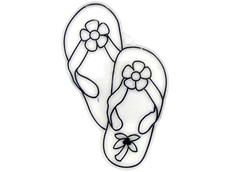 Imgs For Flip Flop Coloring Page Happy National Flip Flop Day