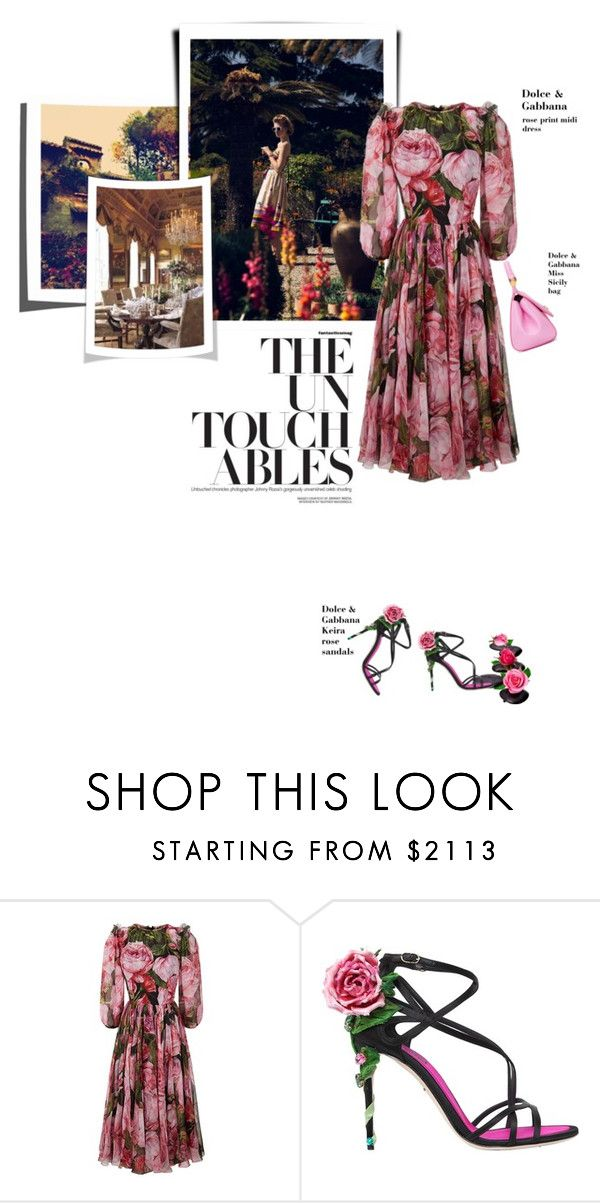 """Now he's home"" by theitalianglam ❤ liked on Polyvore featuring Dolce&Gabbana, dolcegabbana and mariateresa"