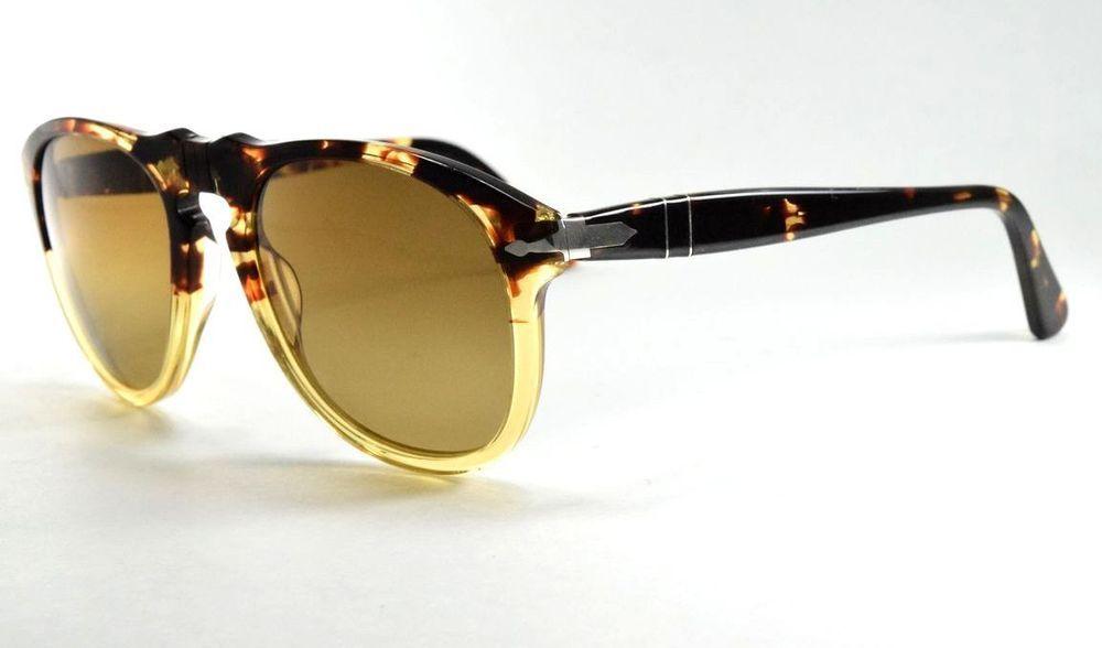 3b08b765cd Persol Sunglasses 649 1024 M2 Ebano e Oro   Polarized Brown Gradient Lens  54 mm  fashion  clothing  shoes  accessories  unisexclothingshoesaccs ...