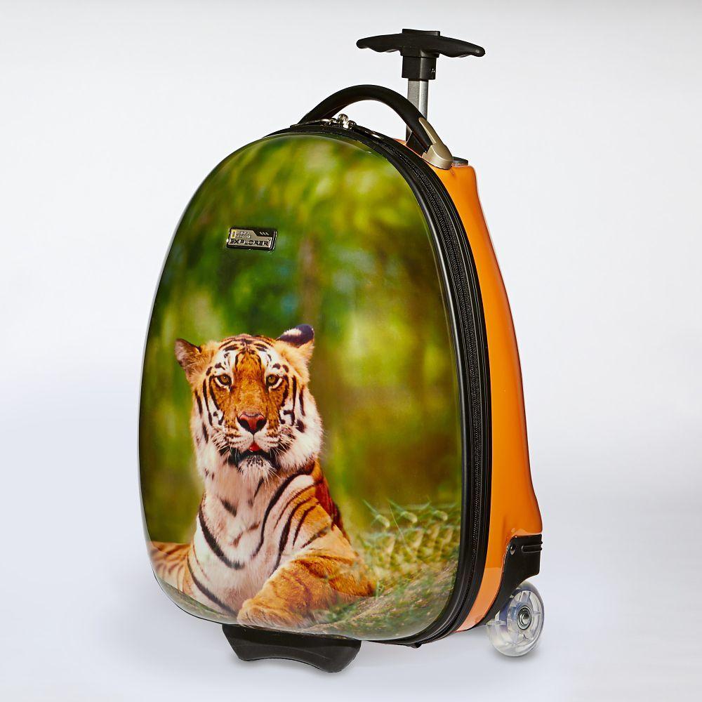 994da9dcb910 National Geographic Kids Tiger Hard-side Luggage   Gifts   Hardside ...
