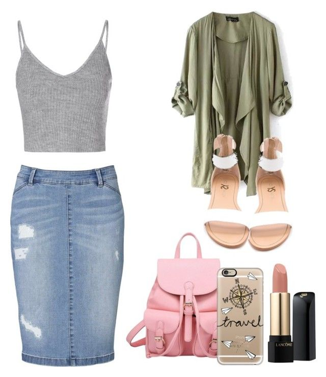 C h i c by crgabriela on Polyvore featuring polyvore, fashion, style, Glamorous, Witchery, Yosi Samra, Casetify and Lancôme