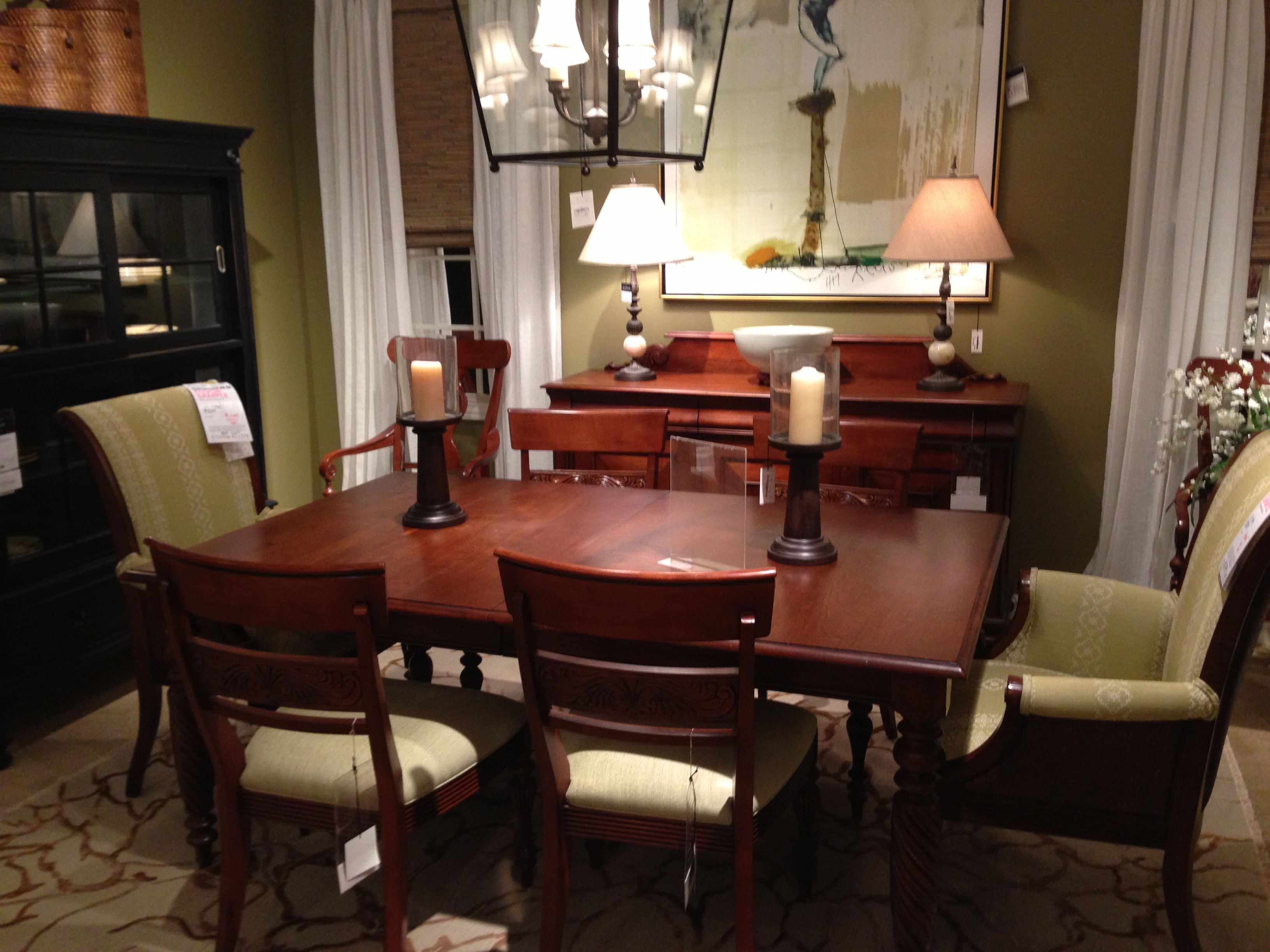 ethan allen dining room set for the home pinterest