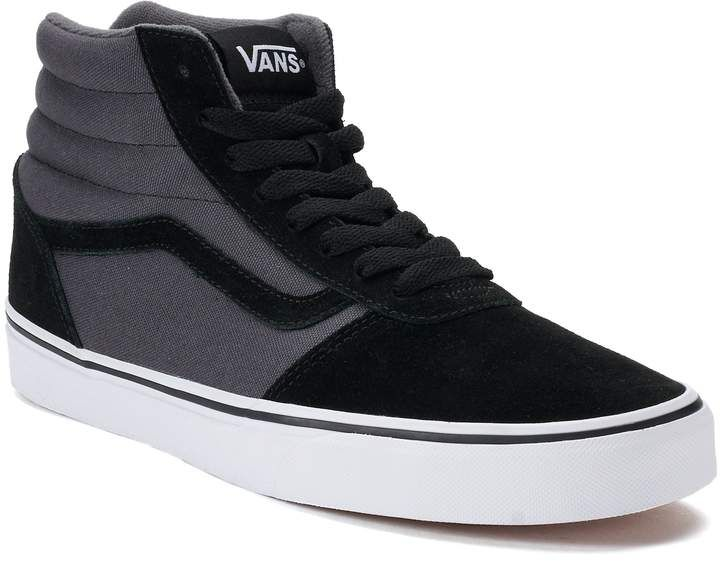 24276b7eca93e8 Vans Ward Hi Men s Suede Skate Shoes