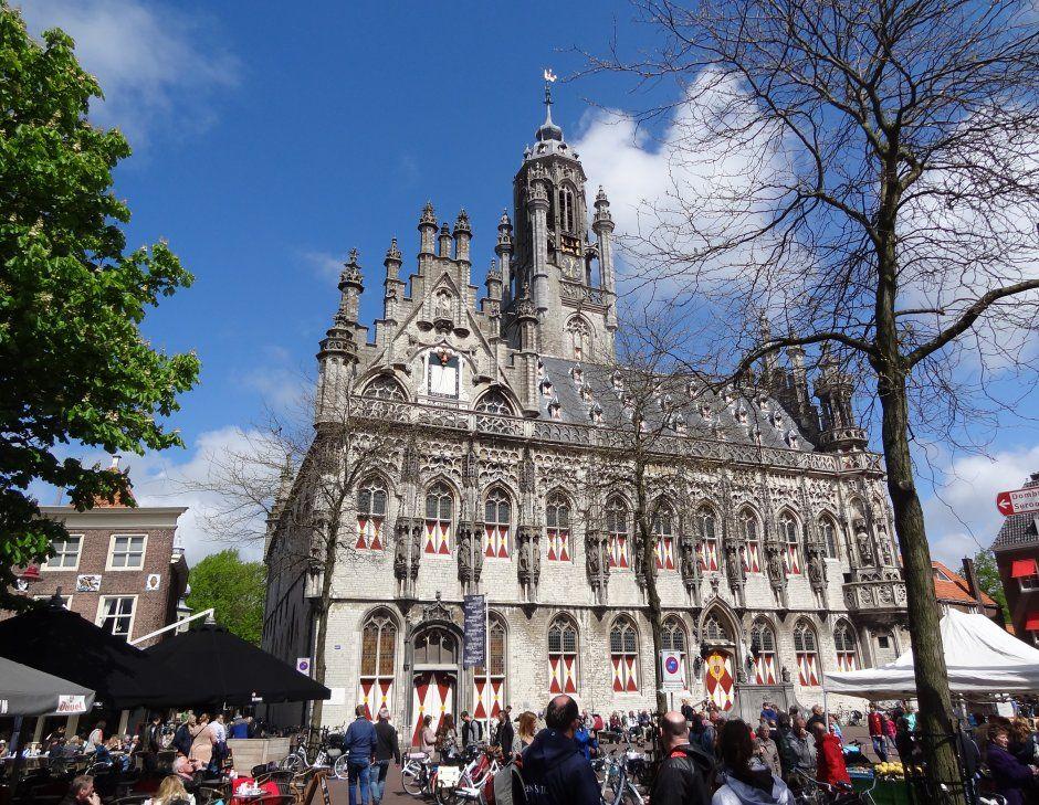 Middelburg Stadhuis Met Markt Netherlands In 2018 Pinterest
