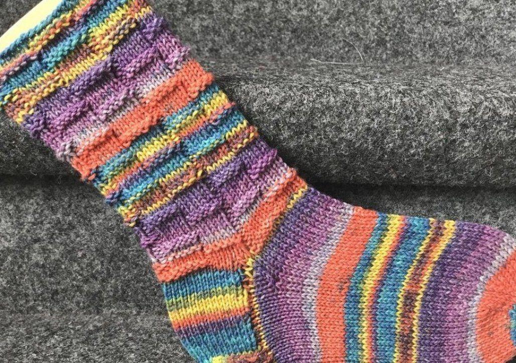 Vickys Pausenbrot Muster sockenstrickvicky knitting