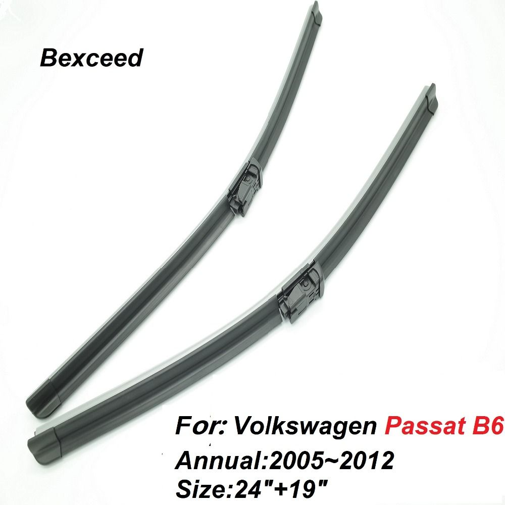"""high quality of bexceed 24""""+19""""car windshield special wiper blades"""