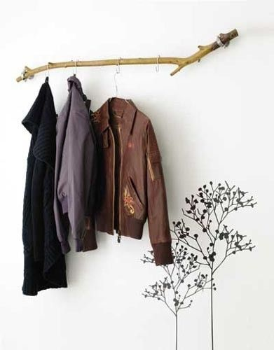 branch coat rack - just feature a few goodies here