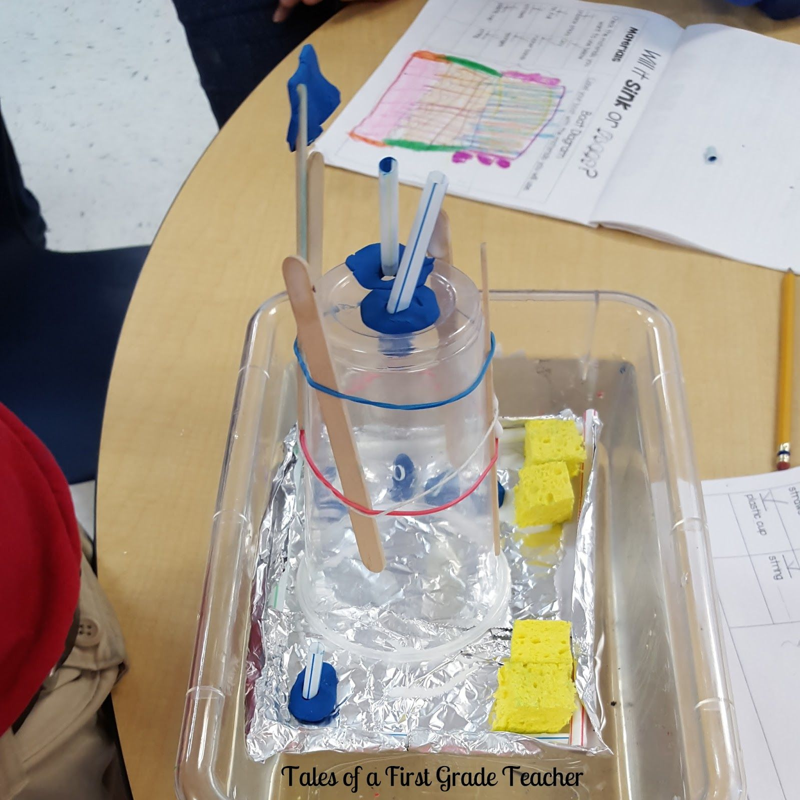 Tales Of A First Grade Teacher Sink And Float Stem Unit