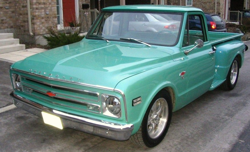 68 Chevy In Tiffany Blue Love Love Love This Truck Chevy