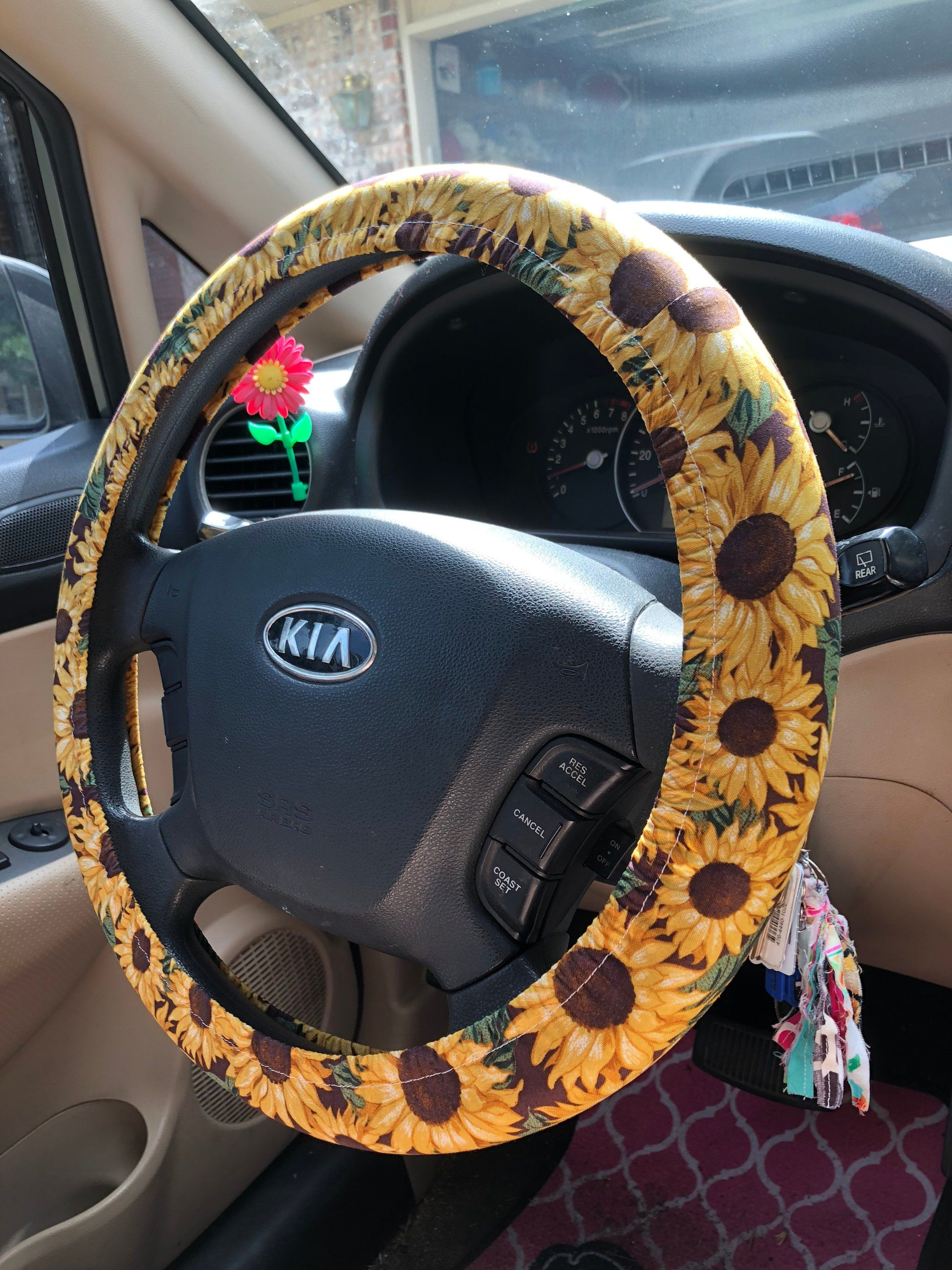 Magnificent Sunflower With Leaves Steering Wheel Cover Inspiration Andrewgaddart Wooden Chair Designs For Living Room Andrewgaddartcom