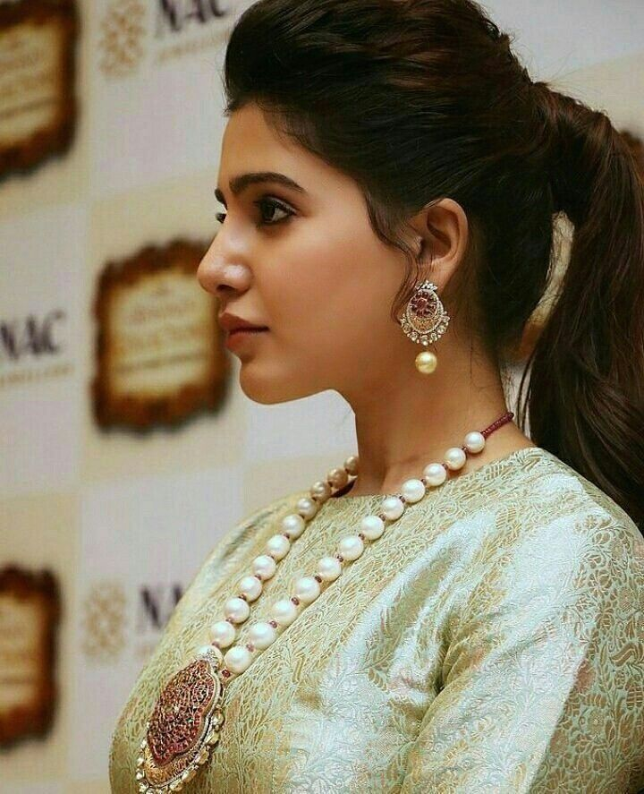 Her Hairstyle Samantha Cutee Samantha Photos