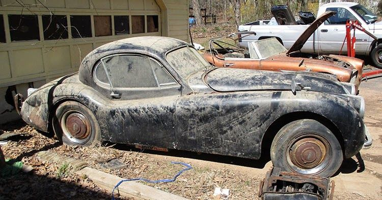 Timeless Jaguar XK120 Looking For A Loving Owner To Restore It To Its Former Glory #Classics #ebay