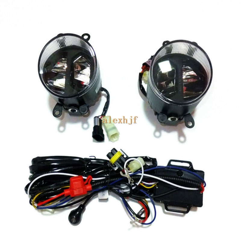 159.99$  Watch now - http://aiw0j.worlditems.win/all/product.php?id=32670145272 - Yeats 1400LM 24W LED Fog Lamp, High-beam Low-beam+560LM DRL Case For Toyota Avalon 08-11 Sienna 2011+, Automatic light-sensitive