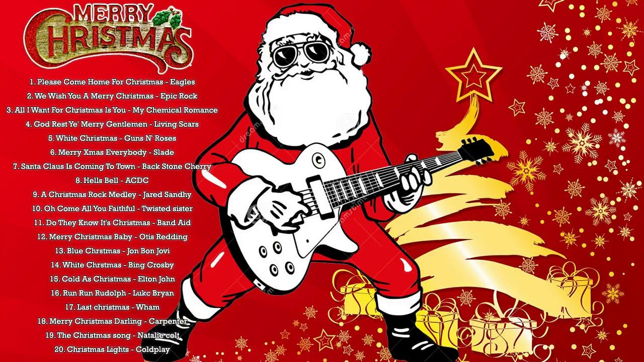 best classic rock christmas songs merry christmas rock songs collection all time youtube - Classic Rock Christmas Songs