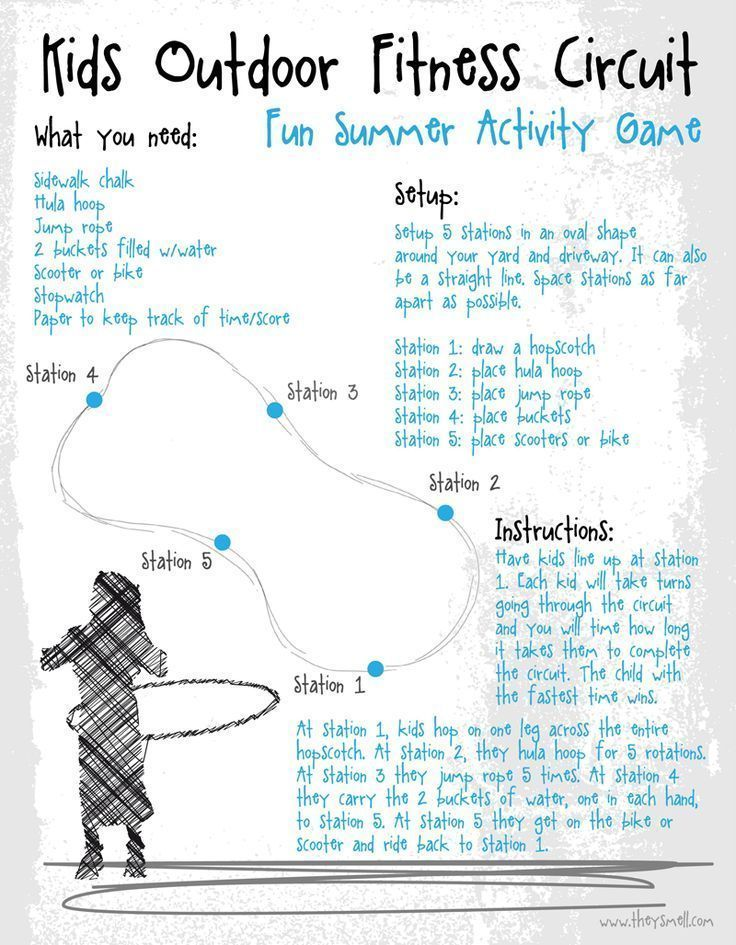 #printable #activity #outdoor #fitness #circuit #moving #summer #making #this #free #game #will #the...