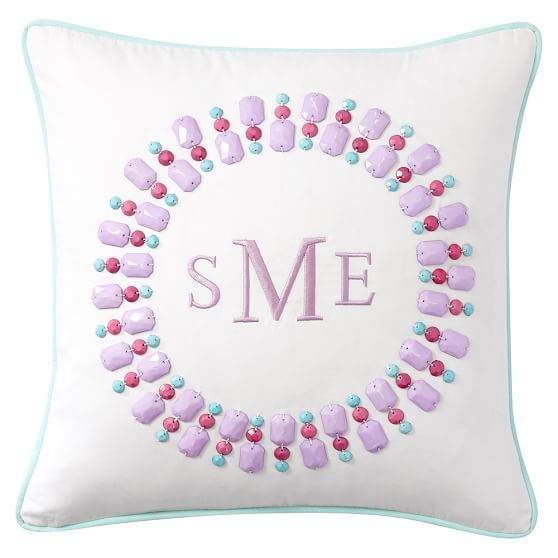 Gem Sational Monogram Pillow Covers Monogram Pillows