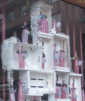 Escaparates navide os escaparates merchandising - Decoracion navidena artesanal ...