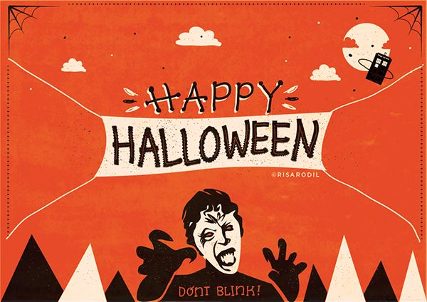 Halloween Fandom Cards | Risa Rodil on Behance
