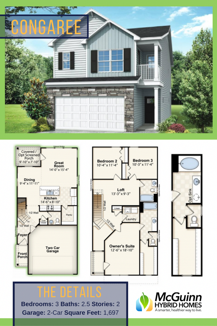 Are You Ready To Build A New Home In South Carolina Check Out This Wonderful Floor Plan Containing 3 Be House Blueprints Sims House Plans Carriage House Plans