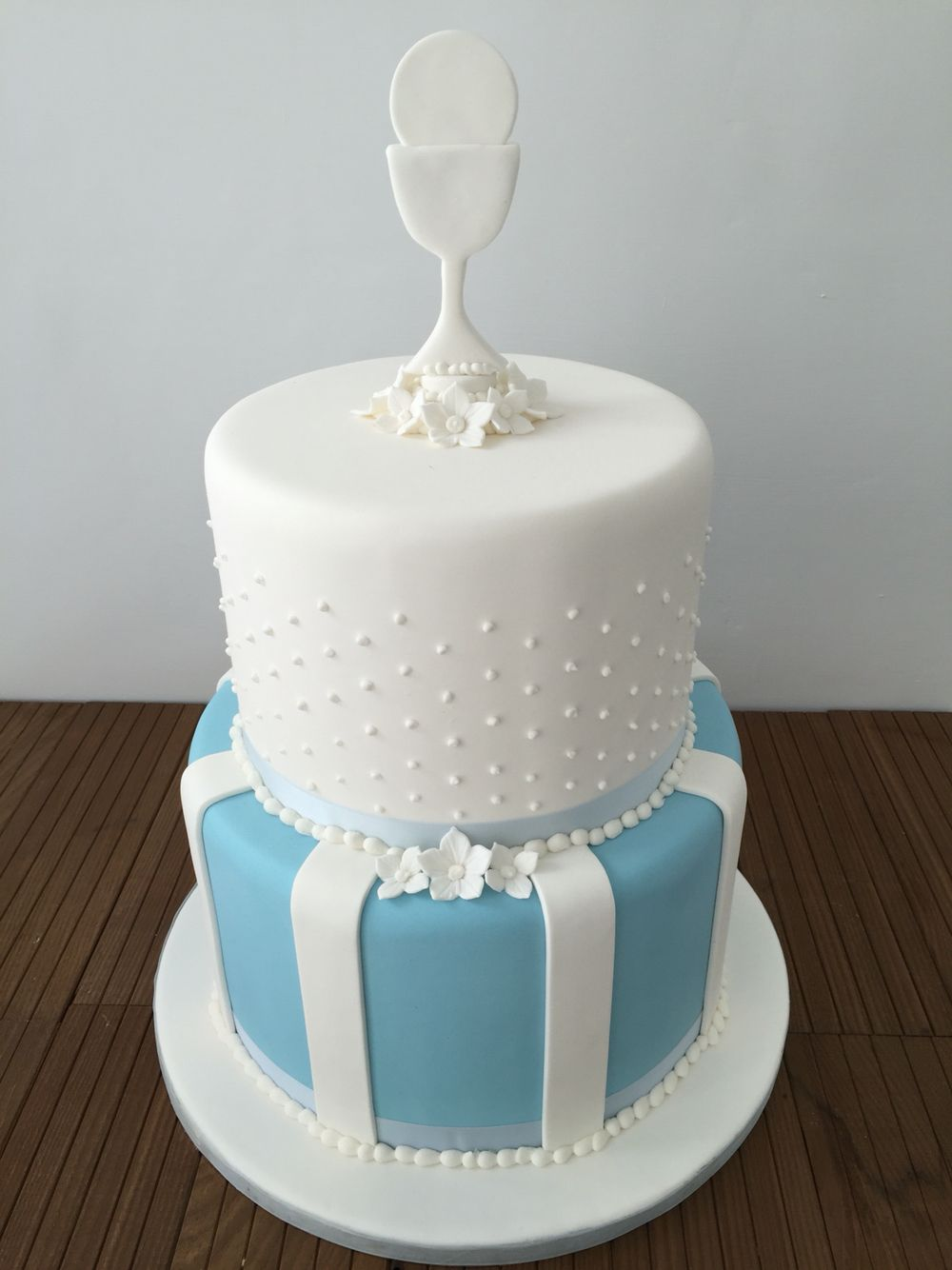 Boys First Holy Communion Two Tier Cake First Communion Cakes