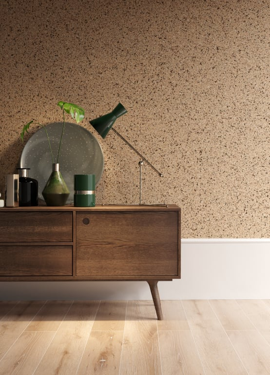 How Go4cork Helps You With Creative Interiors Homify In 2020 Decorative Panels Decor Cork Wall Panels