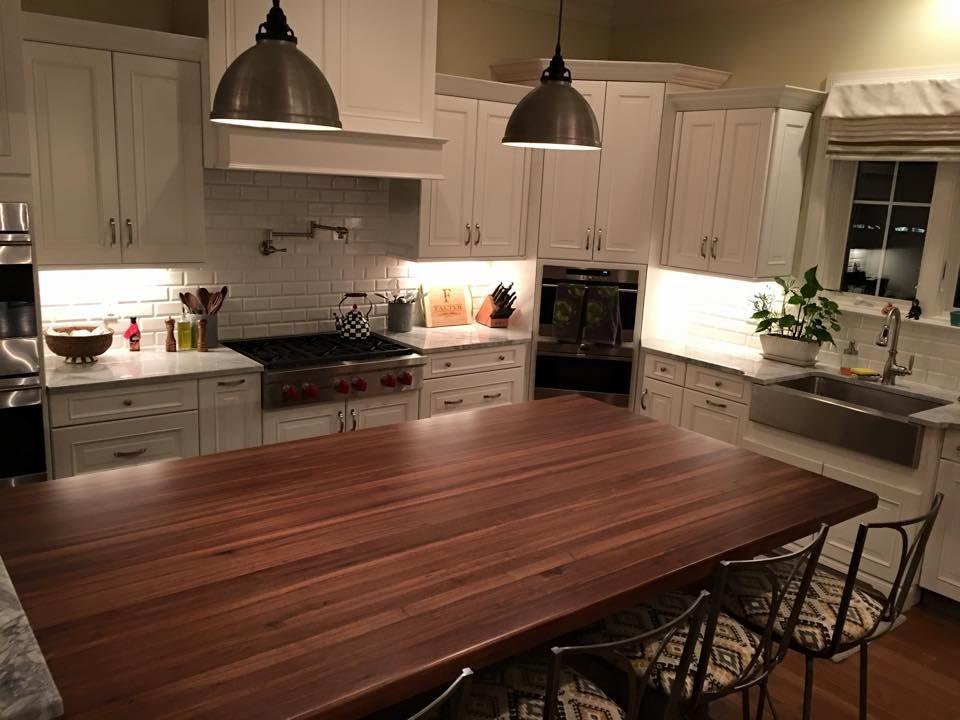 black walnut long grain kitchen countertop with images kitchen countertops kitchen countertops on kitchen decor black countertop id=23783