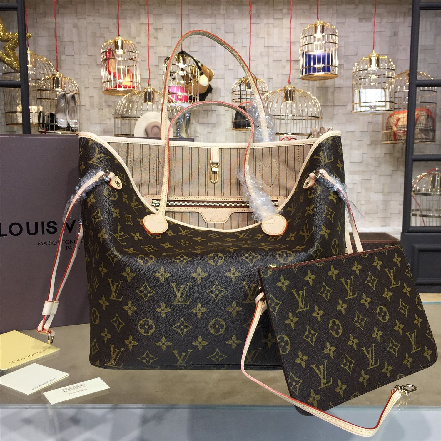 0453671c001d The BEST Louis Vuitton NEVERFULL MM Counter Quality Replica Available  Online! Experience the Designer Discreet difference by shopping with us  today!