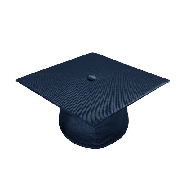 Shiny Navy Cap Each Cap Is Made From Soft Flexible Material And Designed To Stay Firmly In Place A Soft Graduation Cap Blue Graduation Masters Graduation