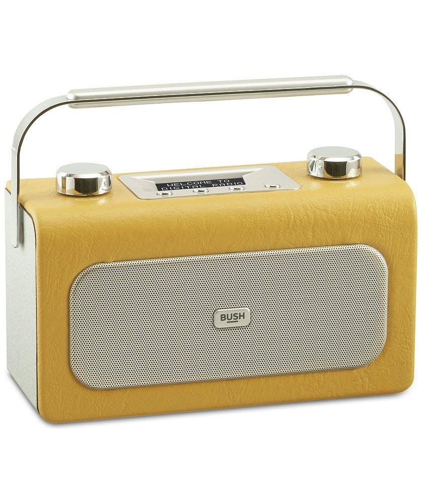 Buy Bush Leather DAB/FM Radio - Mustard at Argos.co.uk - Your Online Shop for Radios.