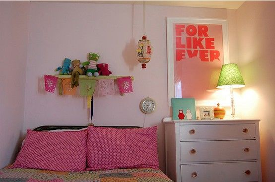 girl\'s room, eclectic, pink, for like ever, vintage, megan ...