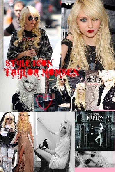 fashion icon - taylor momsen