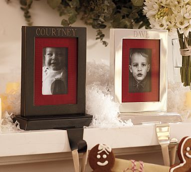 Personalized Frame Stocking Holders The Holiday Season Stocking