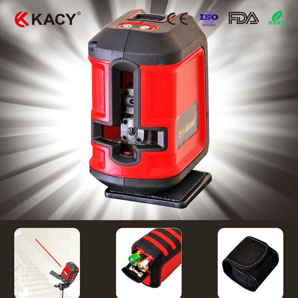 Free Shipping Al04 360degree Self Leveling Cross Laser Level Red Hot Sale Level Laser Level Tools Laser Levels Laser Tools