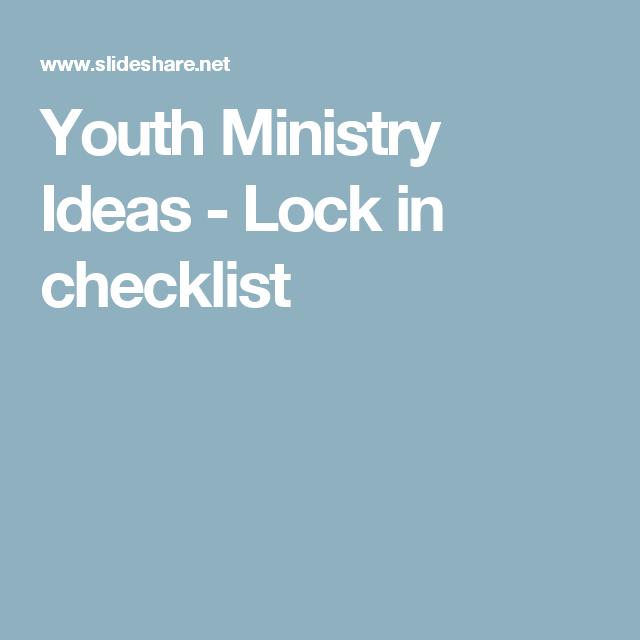 Idea ministry teen