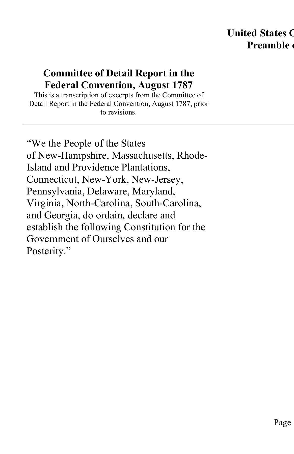United States Constitution Worksheet United States