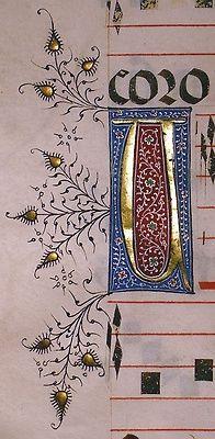 themagicfarawayttree: Choirbook, Seville, Spain, c. 1460-90
