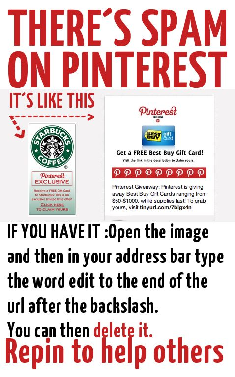 HOW TO DELETE SPAM ON PINTEREST