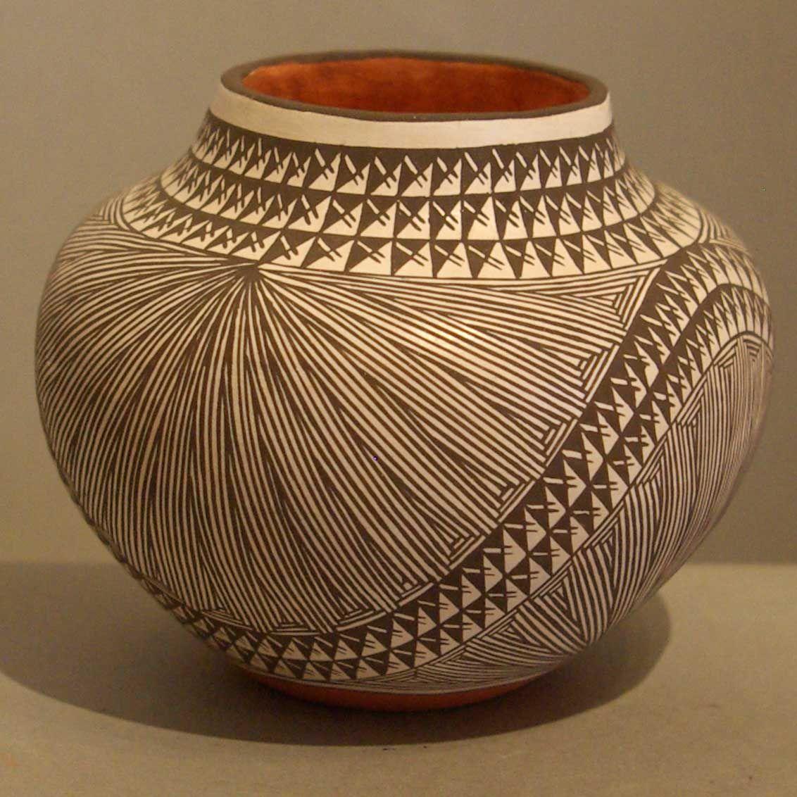 I l-o-v-e Acoma pottery... hand drawn, very thin and fragile
