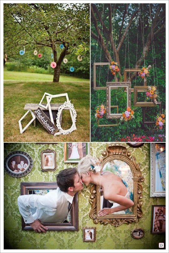 photobooth mariage cadre miroir pan de mur wedding reception pinterest pan de mur miroirs. Black Bedroom Furniture Sets. Home Design Ideas