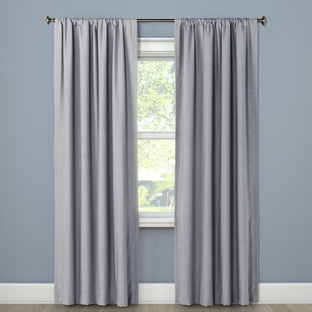 Blackout Curtain Panel Masonry Gray 63 Project 62 Products In 2019 Panel Curtains
