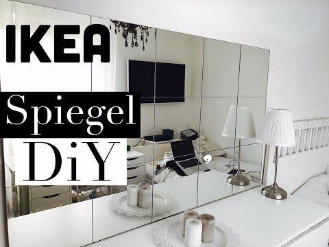 DIY IKEA Spiegelwand - Günstig \ einfach Gana Khalana A House - ikea kleine küchen