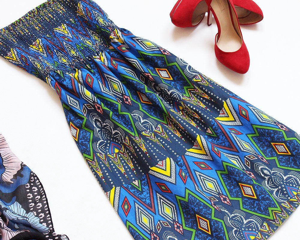 Atmosphere Nowa Sukienka Na Lato Wzor Aztec 36 38 7306804891 Oficjalne Archiwum Allegro Moda Boho Hippie Boho Fashion