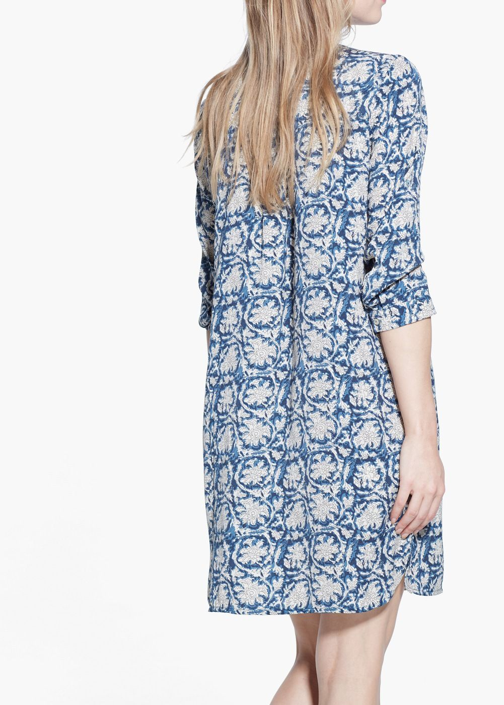 Flowy shirt dress