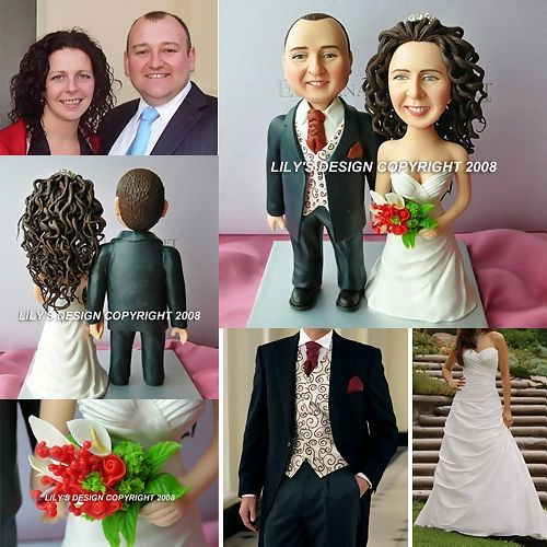 Custom Funny Wedding Cake Toppersfunny Figurines