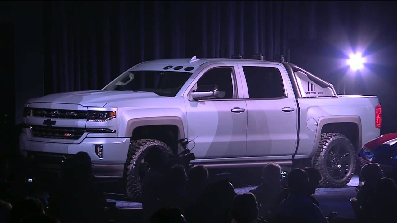 2016 chevy silverado special ops price concept release date