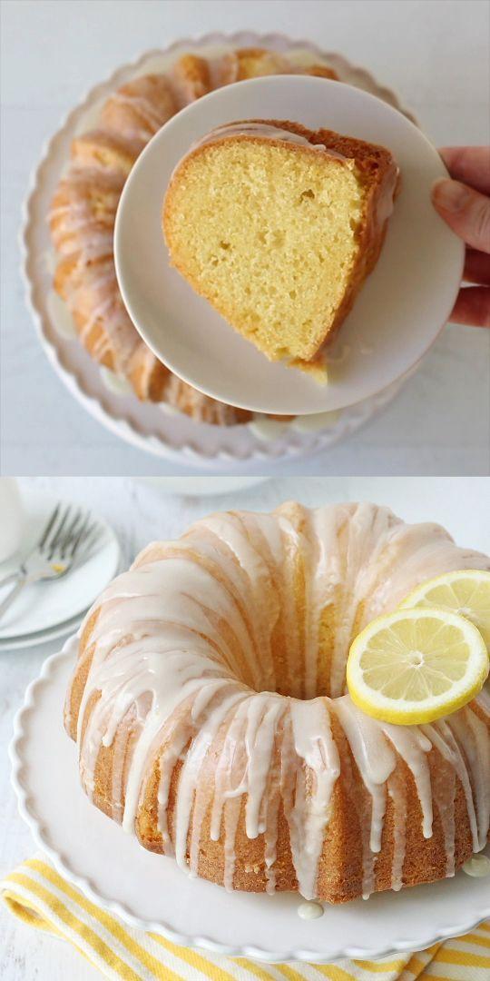 Lemon Bundt Cake - Glorious Treats