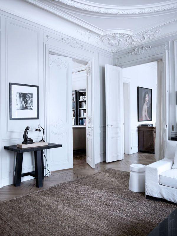 Stylowy apartament w Paryżu, projektPatricka Gillesa i Dorothée Boissier