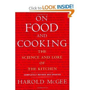 Cookbook    On Food and Cooking: The Science and Lore of the Kitchen [Hardcover]  Harold McGee