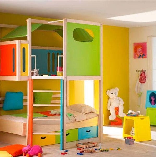 ides pour chambre de garcon de 5 ans  Deco en 2019  Room Bunk beds et Kids room